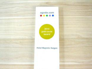 Hotel Majestic Saigon Ho Chi Minh City - Agoda Gold Circle Award 2014