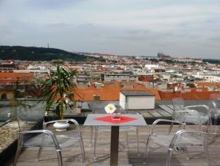 Hotel Musketyr Praag - Balkon/Terras