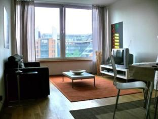 Inn Sight City Apartments Potsdamer Platz Berlin - Konuk Odası