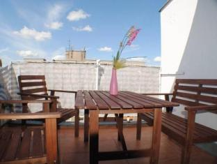 CAB City Apartments Berlin Mitte Berlin - Altan/Terrasse