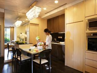 Fraser Suites River Valley Singapore - Three Bedroom Terrace - Dining and Kitchen