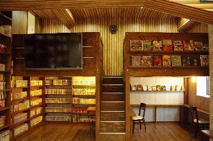 大阪山葵青年旅舍 - 床與圖書館 image