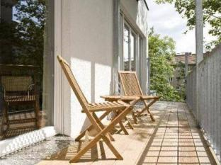 Pfefferbett Apartments Berlin - Balkon/Terrasse