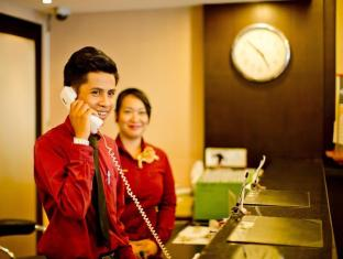 Sinsuvarn Airport Suite Bangkok - Reception 24 hours