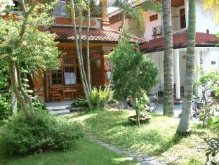 馬哈莫莎愛之棧飯店 峇里島 - 庭院