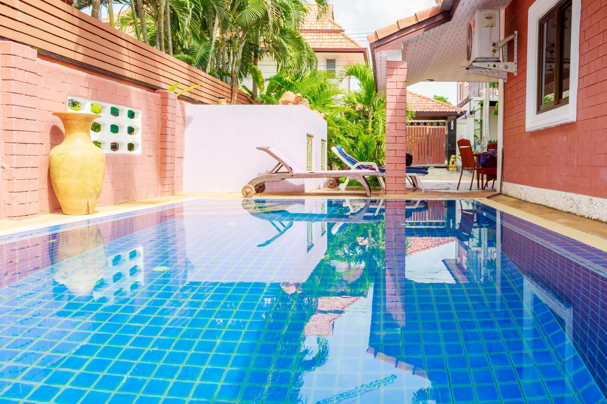 Pool villa corner 4 bedrooms near walking street,Pool villa corner 4 bedrooms near walking street