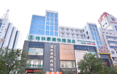 GreenTree Inn Tai'an East Railway Station Caiyuan Street Express Hotel, Taian