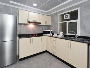 Al Nawras Hotel Apartments Dubai - Kitchen