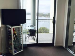Swan Riverside Luxury Apartment Perth - view from master bedroom