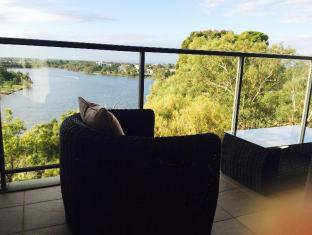 Swan Riverside Luxury Apartment Perth - balcony view