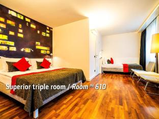 Bohem Art Hotel Budapest - Superior Triple Room