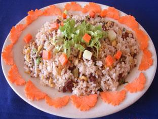 Koh Ker Hotel Siem Reap - Fried Rice with Beef & Vegetable