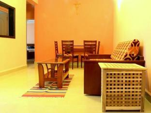 A's Holiday Beach Resort - Boutique Villas and Apartments South Goa - Apartment - Living Room
