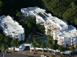 Hotell Santorini By The Sea Apartments  i Guldkusten, Australien
