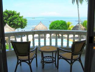 Linaw Beach Resort and Restaurant Panglao Island - מרפסת