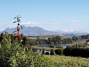 The Devon Valley Hotel Stellenbosch - View from the Vineyard Terrace