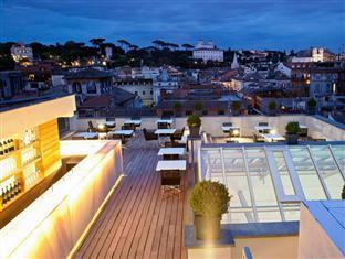 The First Luxury Art Hotel Roma - Member of Preferred Boutique Hotels Rome - Roof Garden