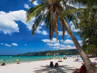 Patong Beach Bed and Breakfast Phuket - Hotellet från utsidan