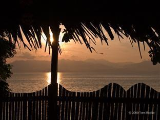 Barefoot White Beach Resort Cebu - Sunset from Honeymoon Suite Cottage