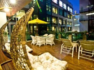 Rashmi's Plaza Hotel Vientiane Vientiane - Balkong/terrass