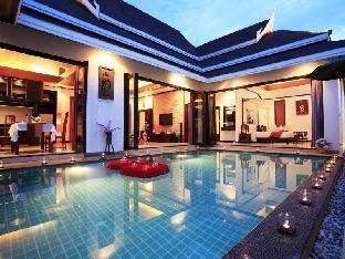 ロゴ/写真:The Iris Pool Villa
