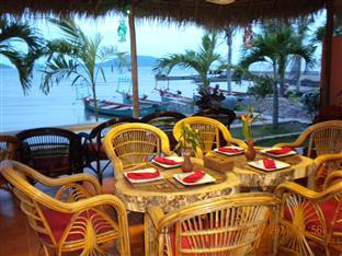 Long Villa Inn Kep - Restaurant at night view