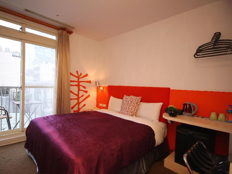 Ximen hotel taipei taiwan overview for Design ximen hotel agoda