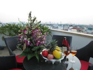 Golden Silk Boutique Hotel Hanoi - Balkon/Terrasse