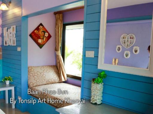 TonSilp Art Home hotel accepts paypal in Khao Yai