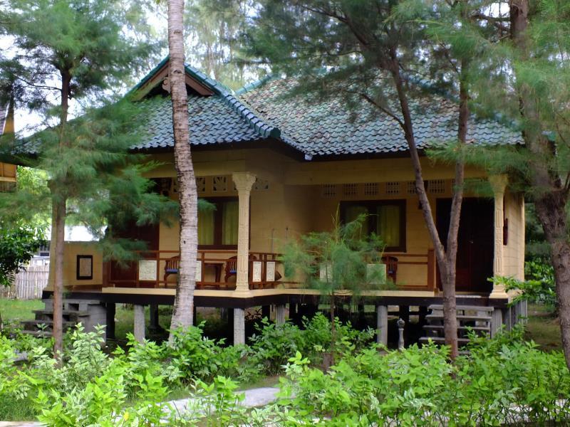 Kontiki Meno Hotel Lombok Map