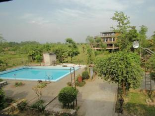 Baghmara Wildlife Resort Parc national de Chitwan - Balcon/Terrasse
