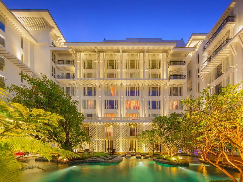แผนที่ โรงแรมหัวช้างเฮอริเทจ ที่เที่ยว ที่พัก ใกล้ โรงแรม