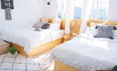 HUAQINGSU 2 Bed Family Studio YABAI, Xiamen