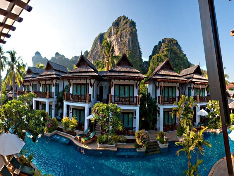 Railay Village Resort Krabi Thailand Overview