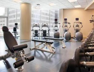 Marriott Pinnacle Hotel Vancouver (BC) - Fitness Room