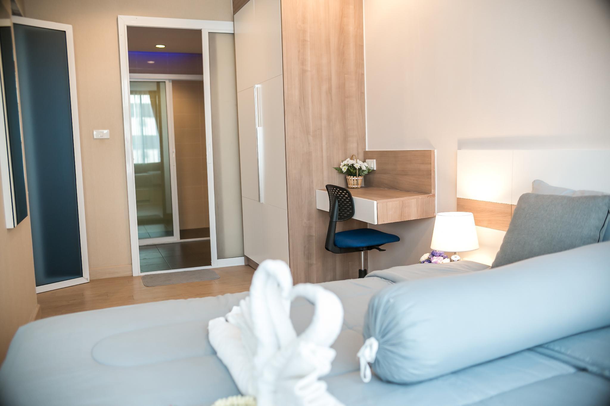 ,อพาร์ตเมนต์ 1 ห้องนอน 1 ห้องน้ำส่วนตัว ขนาด 47 ตร.ม. – ห้วยแก้ว
