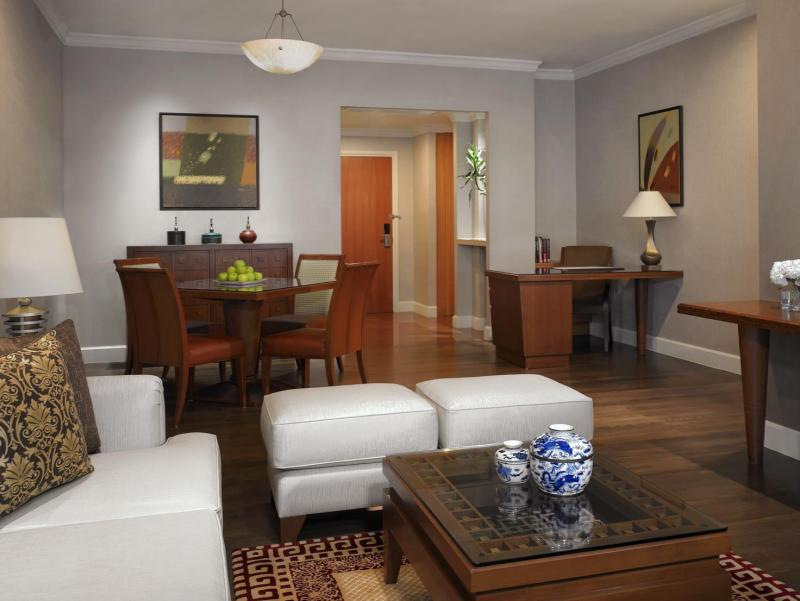One Bedroom Suite Living Room - A Private Bedroom, Spacious Living Room With Sleeper Sofa, Dining Area