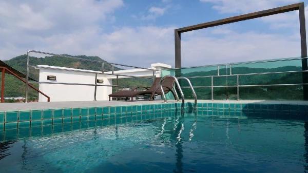 Luxury Penthouse with own pool, jacuzzi and sauna  Phuket