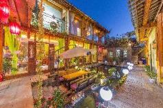 Rattan double  room with garden view, Lijiang