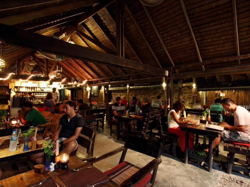 Phi Phi Ba Kao Bay Resort Koh Phi Phi Map