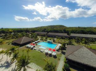 Bohol Beach Club Resort Panglao Island - aerial view with pools