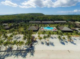 Bohol Beach Club Resort Panglao Island - aerial view of resort