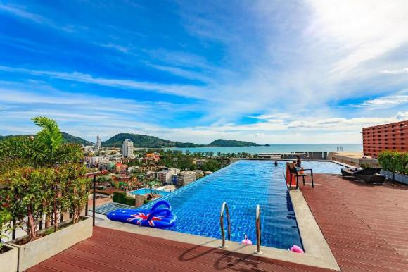 U606 - Convenient Patong apartment for 3 people with pool and gym. - 20284972