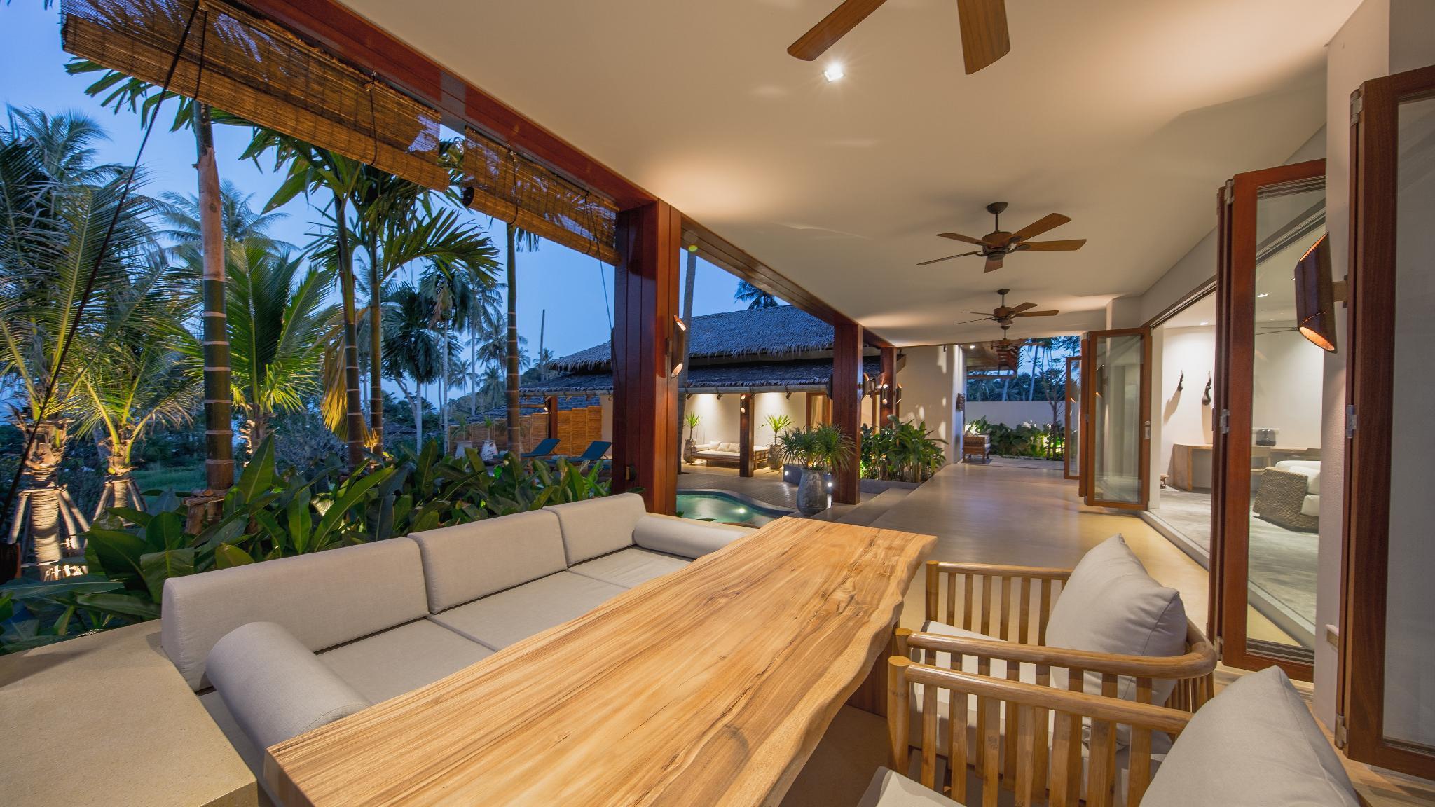 Eco luxury villa