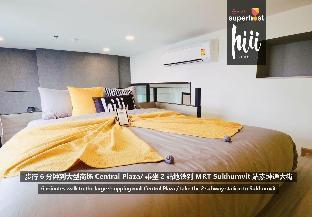 【hiii】Loft Apt.@CBD/MRTPhetchaburi/Pharma9-BKK082