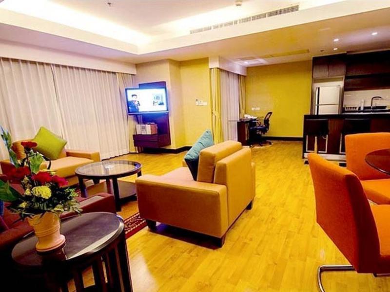 【Sukhumvit Hotel】レンブラントタワーズ サービスド アパートメンツ(Rembrandt Towers Serviced Apartments)