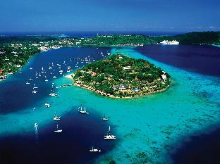 Iririki Island Resort and Spa Hotel in ➦ Port Vila ➦ accepts PayPal.