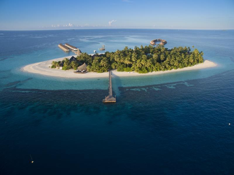 Angaga Island Resort and Spa Maldives Islands Map