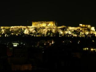 Evripides Hotel Athens - Acropolis view from Roof-Top