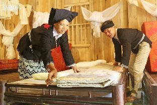 Nhà trệt gỗ truyền thống mát mẻ